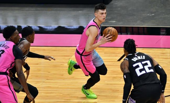 Miami Heat at Sacramento Kings - 2/18/21 NBA Picks and Prediction