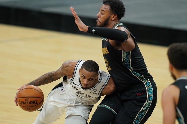 Memphis Grizzlies at San Antonio Spurs - 2/1/21 NBA Picks and Prediction