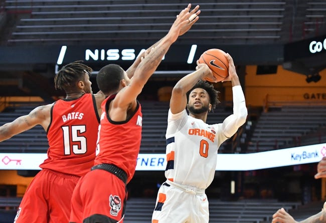 Syracuse at Duke Blue - 2/22/21 College Basketball Picks and Prediction