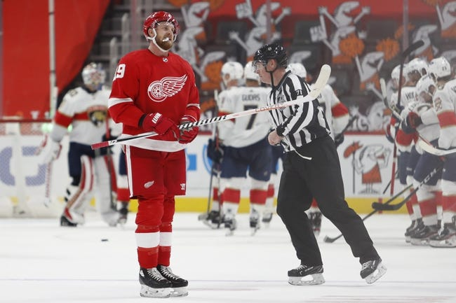 Florida Panthers vs Detroit Red Wings NHL Picks, Odds, Predictions 2/7/21