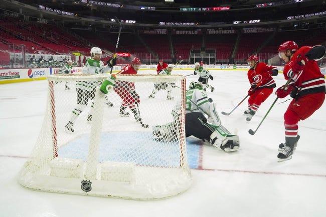 Dallas Stars vs Carolina Hurricanes NHL Picks, Odds, Predictions 2/11/21