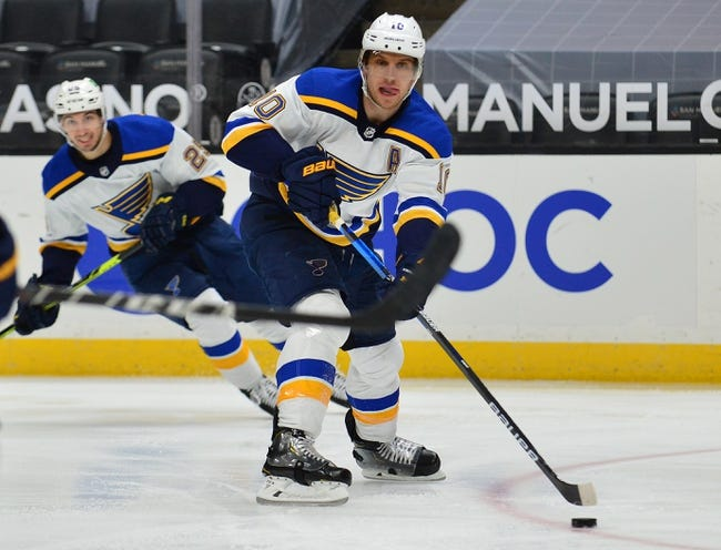 St. Louis Blues vs Arizona Coyotes NHL Picks, Odds, Predictions 2/2/21