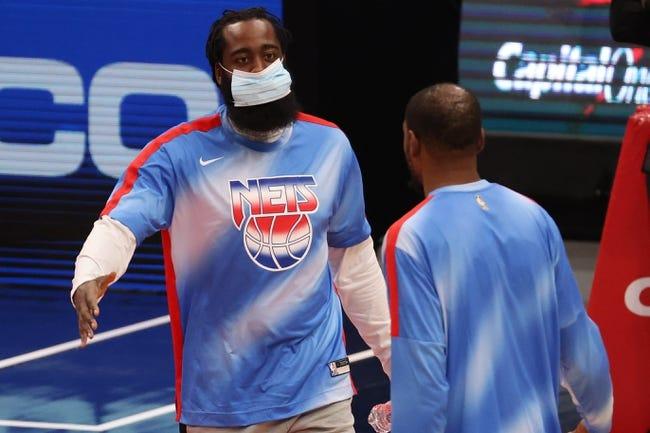 Brooklyn Nets at Sacramento Kings - 2/15/21 NBA Picks and Prediction