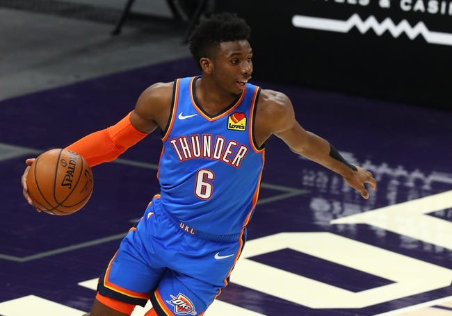 Oklahoma City Thunder at Phoenix Suns - 4/2/21 NBA Picks and Prediction