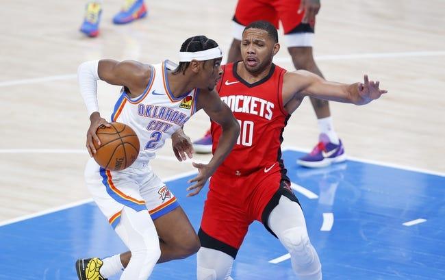Houston Rockets at Oklahoma City Thunder - 2/3/21 NBA Picks and Prediction