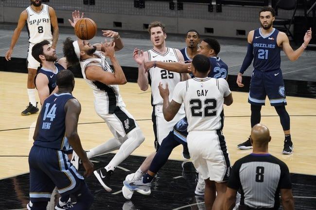 San Antonio Spurs at Memphis Grizzlies - 5/19/21 NBA Picks and Prediction
