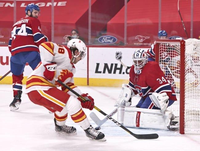 Calgary Flames vs Montreal Canadiens NHL Picks, Odds, Predictions 3/11/21