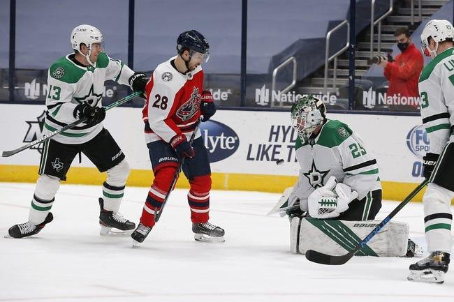 Columbus Blue Jackets vs Dallas Stars NHL Picks, Odds, Predictions 2/4/21