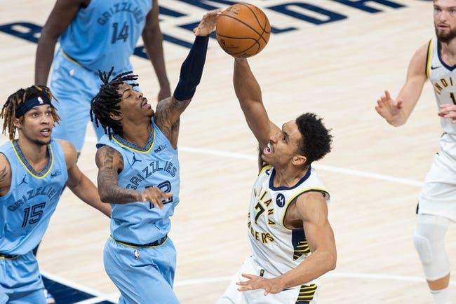 Indiana Pacers at Memphis Grizzlies - 4/11/21 NBA Picks and Prediction