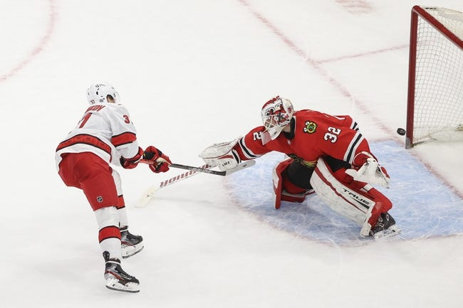 Chicago Blackhawks vs Carolina Hurricanes NHL Picks, Odds, Predictions 2/4/21