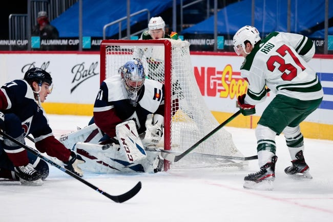 Colorado Avalanche vs Minnesota Wild NHL Picks, Odds, Predictions 2/24/21