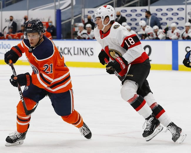 Ottawa Senators vs Edmonton Oilers NHL Picks, Odds, Predictions 2/8/21