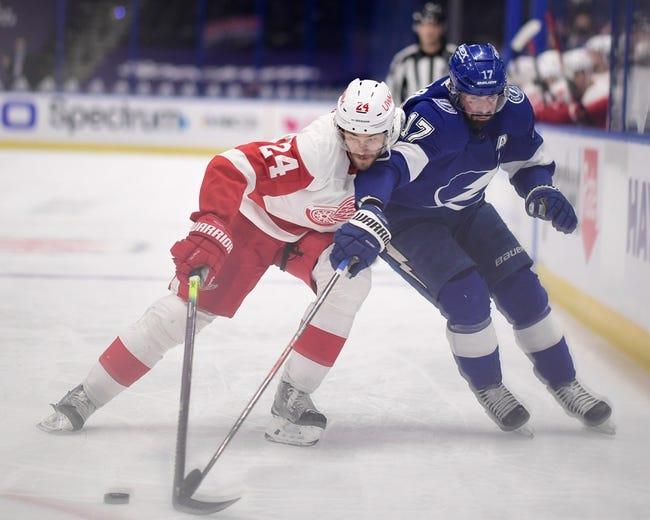 Tampa Bay Lightning vs Detroit Red Wings NHL Picks, Odds, Predictions 2/5/21