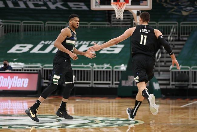 Milwaukee Bucks at Cleveland Cavaliers - 2/5/21 NBA Picks and Prediction