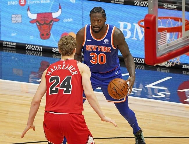 New York Knicks at Washington Wizards - 2/12/21 NBA Picks and Prediction
