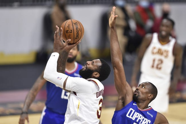 Cleveland Cavaliers at Los Angeles Clippers - 2/14/21 NBA Picks and Prediction