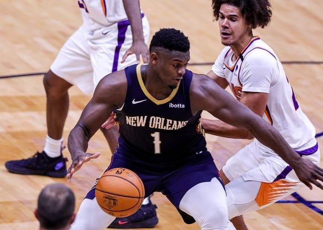 Phoenix Suns at New Orleans Pelicans - 2/19/21 NBA Picks and Prediction