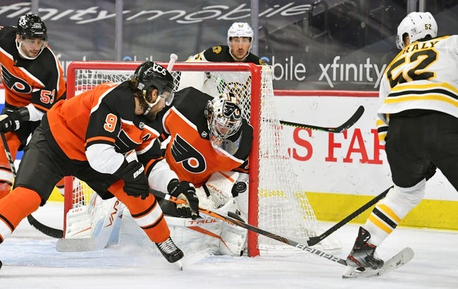 Philadelphia Flyers vs Boston Bruins NHL Picks, Odds, Predictions 2/5/21