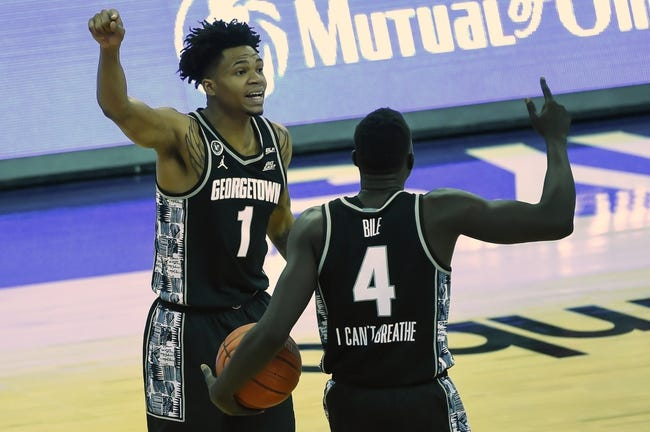 Xavier at Georgetown University:  3/2/21 College Basketball Picks and Predictions