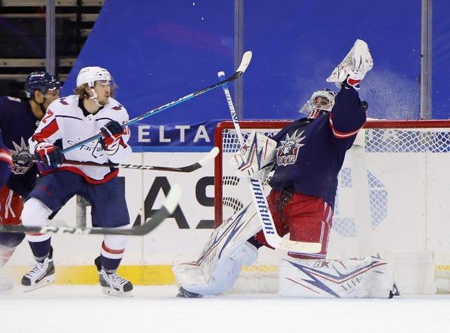 Washington Capitals vs New York Rangers NHL Picks, Odds, Predictions 2/20/21