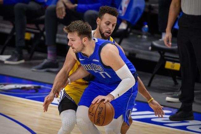 Golden State Warriors at Dallas Mavericks - 2/6/21 NBA Picks and Prediction