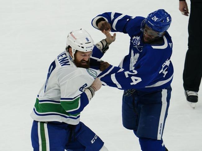Toronto Maple Leafs vs Vancouver Canucks NHL Picks, Odds, Predictions 2/6/21