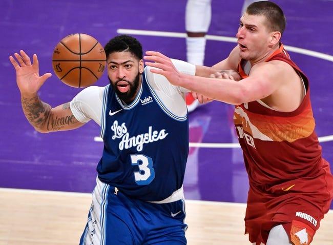 Los Angeles Lakers at Denver Nuggets - 2/14/21 NBA Picks and Prediction