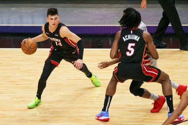 Miami Heat at New York Knicks - 2/7/21 NBA Picks and Prediction