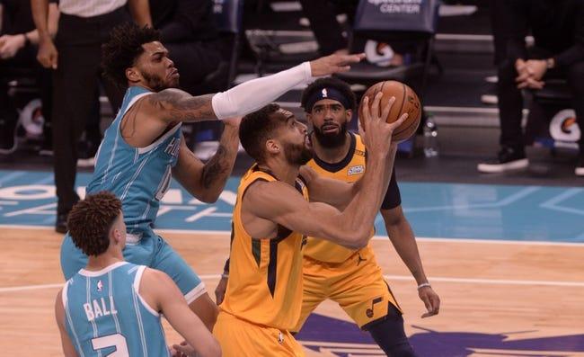 Charlotte Hornets at Utah Jazz - 2/22/21 NBA Picks and Prediction