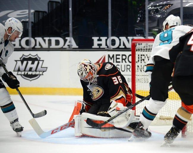 Anaheim Ducks vs San Jose Sharks NHL Picks, Odds, Predictions 2/6/21