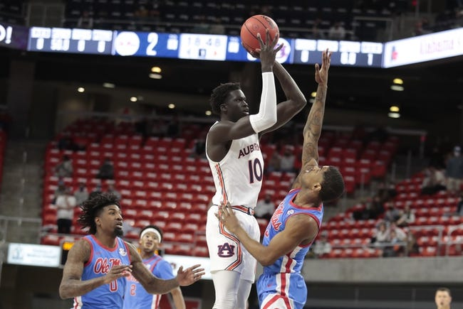 Mississippi State at Auburn - 2/16/21 College Basketball Picks and Prediction