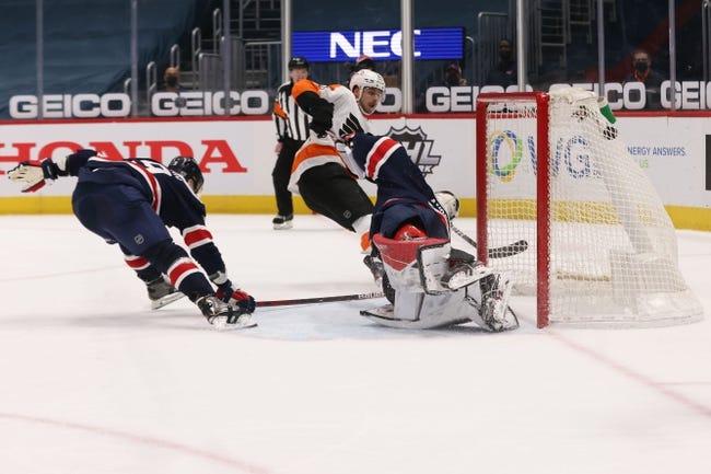Washington Capitals vs Philadelphia Flyers NHL Picks, Odds, Predictions 2/9/21