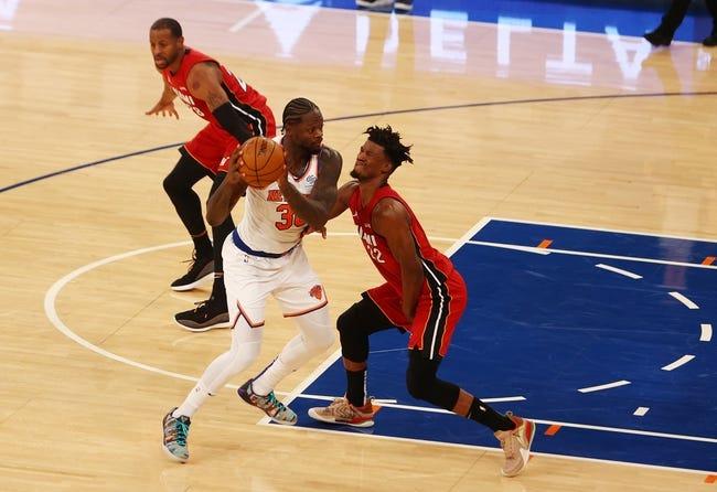 Miami Heat vs New York Knicks NBA Picks, Odds, Predictions 2/9/21