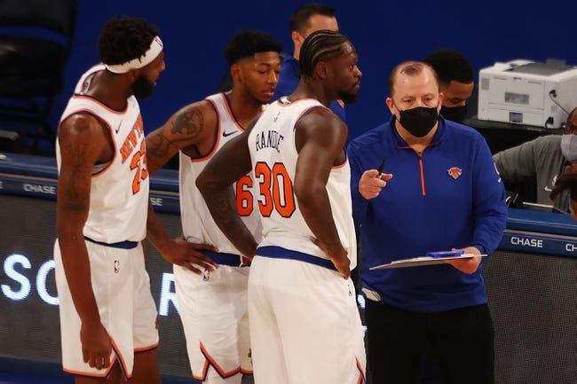 Atlanta Hawks at New York Knicks - 2/15/21 NBA Picks and Prediction
