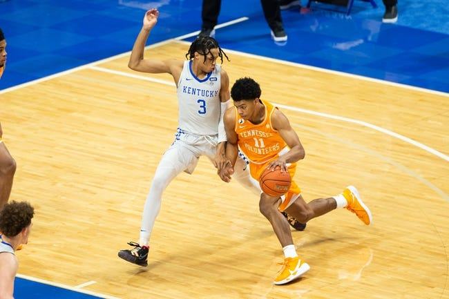 Kentucky at Tennessee: 2/20/21 College Basketball Picks and Prediction