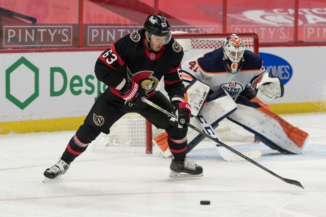 Ottawa Senators vs Edmonton Oilers NHL Picks, Odds, Predictions 2/9/21
