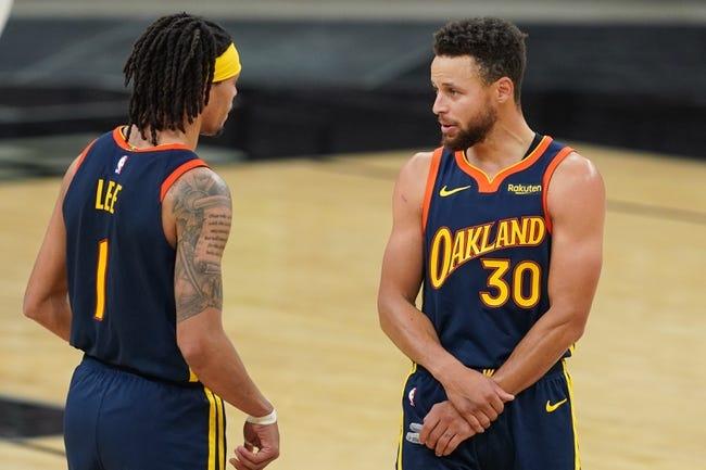 Golden State Warriors at San Antonio Spurs - 2/9/21 NBA Picks and Prediction