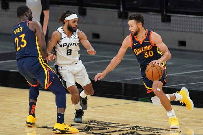 San Antonio Spurs vs Golden State Warriors NBA Picks, Odds, Predictions 2/9/21