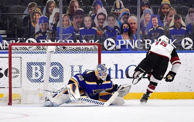 Arizona Coyotes vs St. Louis Blues NHL Picks, Odds, Predictions 2/12/21