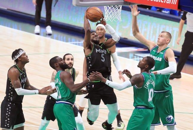 Dallas Mavericks at Minnesota Timberwolves - 3/24/21 NBA Picks and Prediction