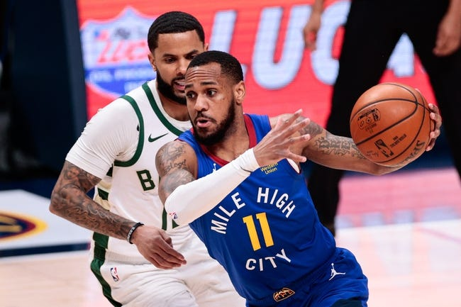 Denver Nuggets at Milwaukee Bucks - 3/2/21 NBA Picks and Prediction
