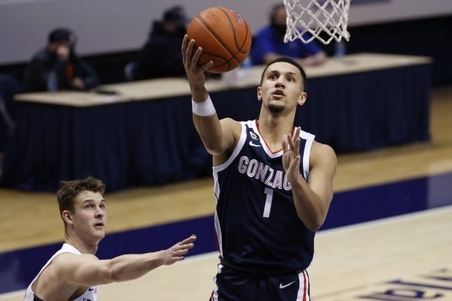St. Mary's at Gonzaga: 2/18/21 College Basketball Picks and Predictions