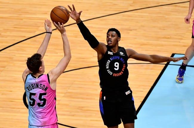 New York Knicks vs Miami Heat NBA Picks, Odds, Predictions 3/29/21