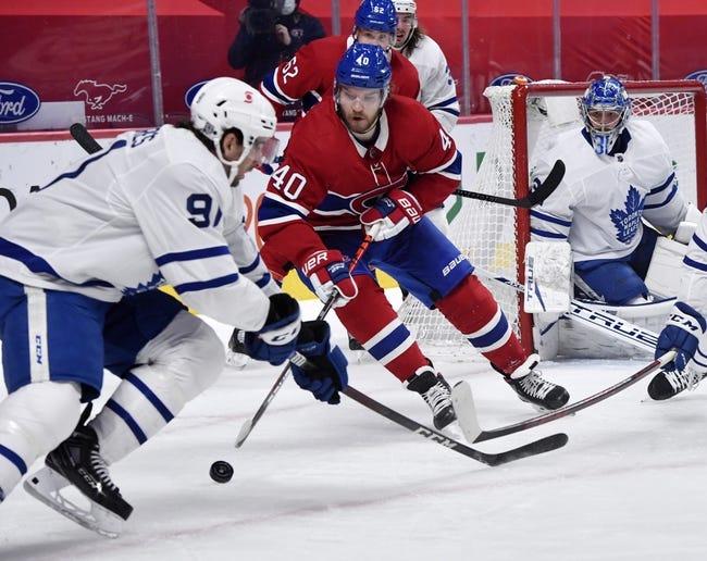 Toronto Maple Leafs vs Montreal Canadiens NHL Picks, Odds, Predictions 2/13/21