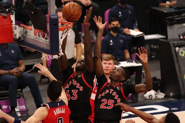 Washington Wizards at Toronto Raptors - 4/5/21 NBA Picks and Prediction