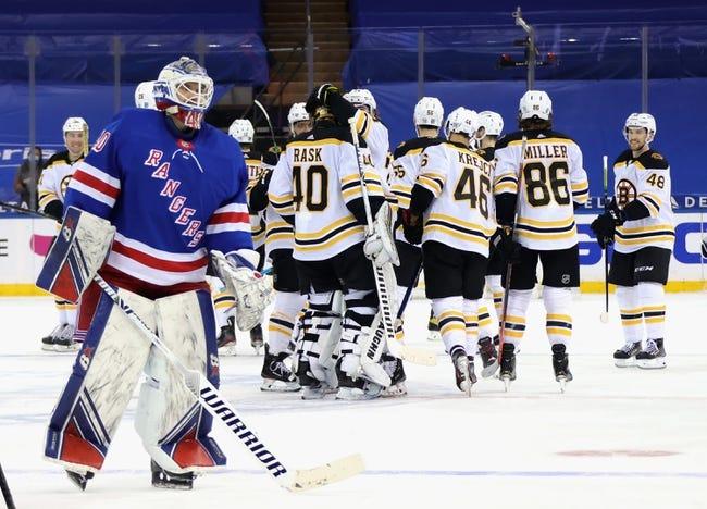 New York Rangers vs Boston Bruins NHL Picks, Odds, Predictions 2/12/21