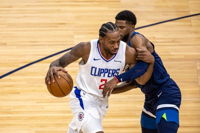 Minnesota Timberwolves at Los Angeles Clippers - 4/18/21 NBA Picks and Prediction