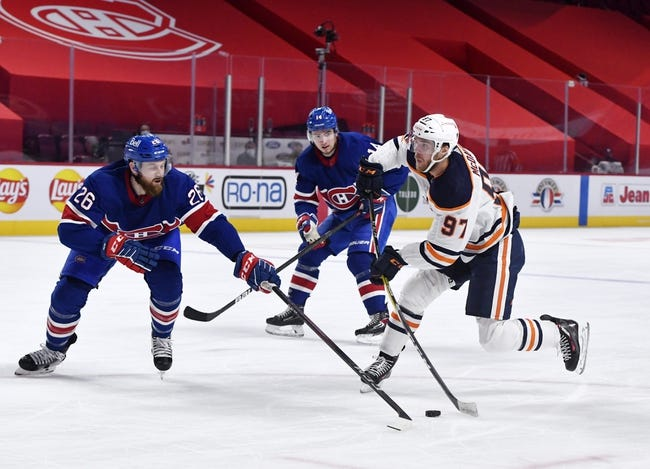 Montreal Canadiens vs Edmonton Oilers NHL Picks, Odds, Predictions 3/22/21
