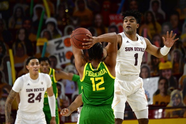Arizona State  at Oregon: 3/11/21 College Basketball Picks and Predictions
