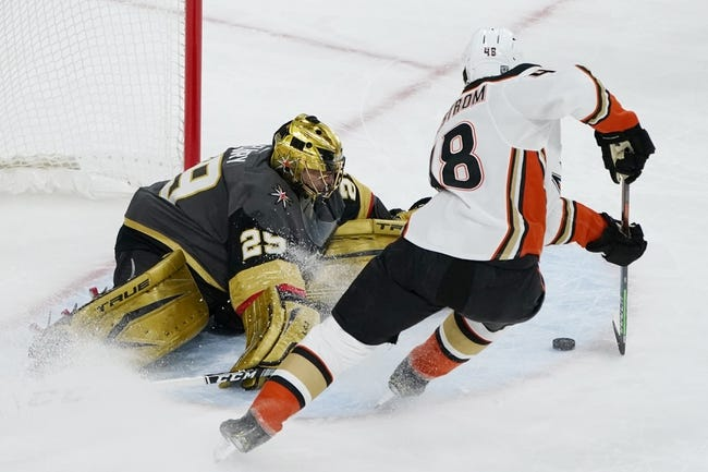 Vegas Golden Knights at Anaheim Ducks - 2/27/21 NHL Picks and Prediction